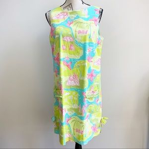Lilly Pulitzer Private Island White Label Dress
